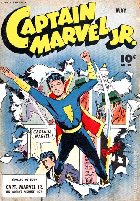 Junior In Comic captain marvel jr 1942 comic books