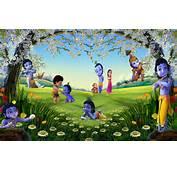 Disney HD Wallpapers Cartoon Little Krishna