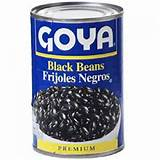 Pictures of Canned Black Beans