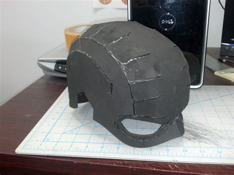 foam helmet template batman armor pepakura foam templates pictures to pin on