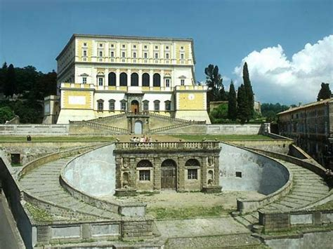 palazzo farnese caprarola giardini capraola roma con il palazzo farnese e gli originali giardini