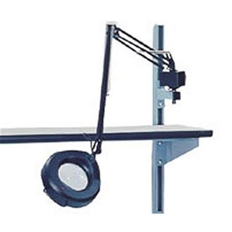 work bench light magnifier work bench systems adjustable height 3 diopter