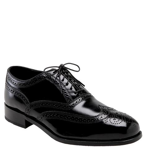 florsheim oxford shoes florsheim wing tip oxford shoes in black for