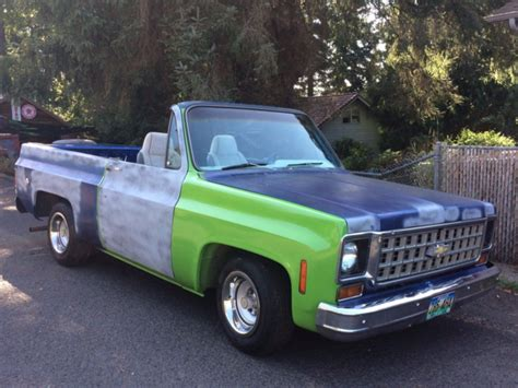 1973 chevy k5 blazer 2wd c10 not bagged no air rid