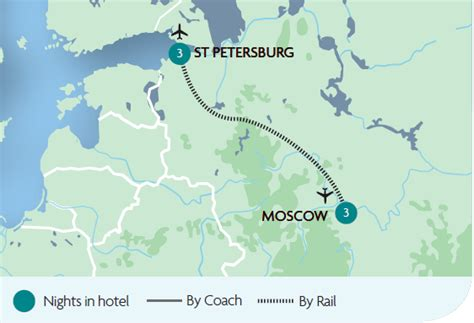 moscow and st petersburg in 050051433x escorted train tours holidays in russia rail discoveries