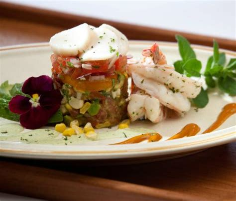 Cottage Place Restaurant by Seafood Tower Featured In Frank S Cookbook Cottage Place Flavors Picture Of Cottage