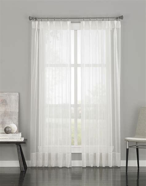 15 Photos Extra Long Voile Curtains Curtain Ideas