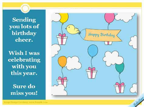 How Do You Send Birthday Cards On Sending Birthday Cheer Free Miss You Ecards Greeting