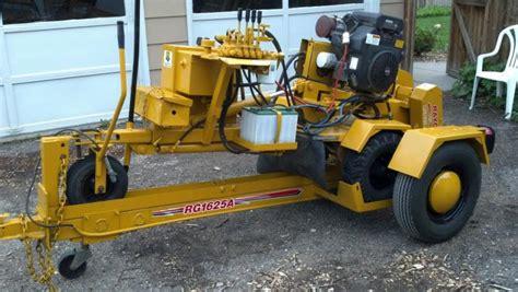 Racyo Rg1625 Super Jr Stump Grinder Self Propelled