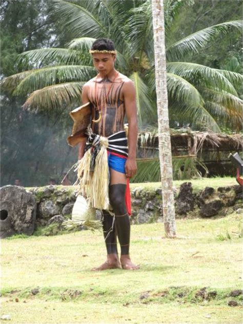 yap micronesia warrior boy yap days