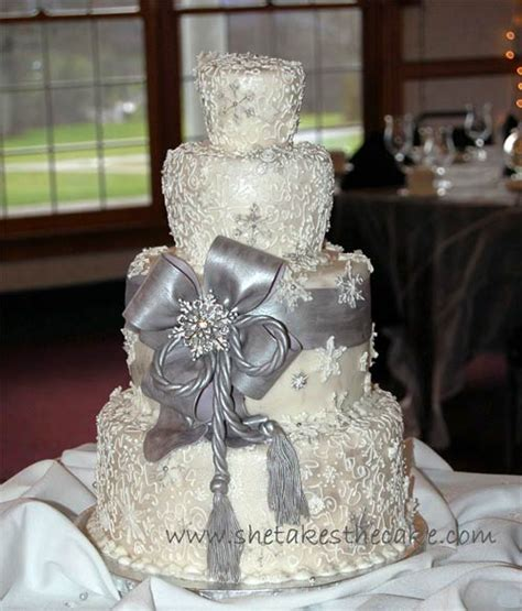 the bridal cake elegant silver wedding cakes