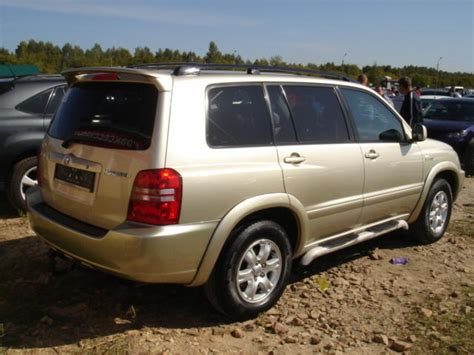 2002 Toyota Highlander Transmission Used 2002 Toyota Highlander Photos 3000cc Gasoline
