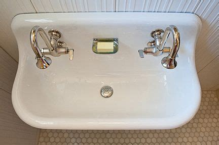 vintage trough sink bathroom vintage trough sink google search bathrooms