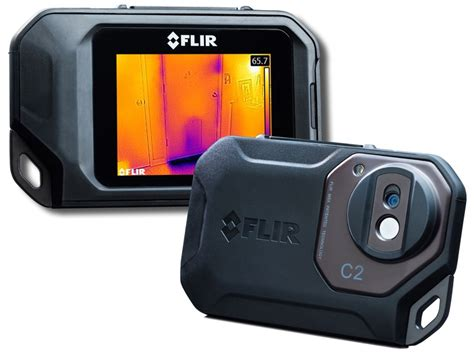 flir thermal imaging on review flir c2 thermal tools