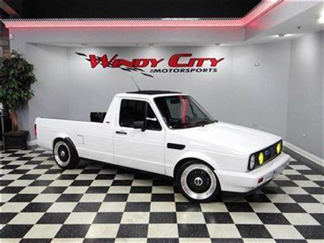 volkswagen rabbit truck custom sell used 1983 volkswagen rabbit caddy custom
