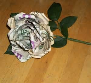 money flowers how to make a money