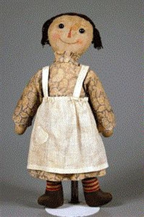 rag doll history the original raggedy about 1915 according to his