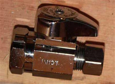 sink shut valve types types of sink shut valves