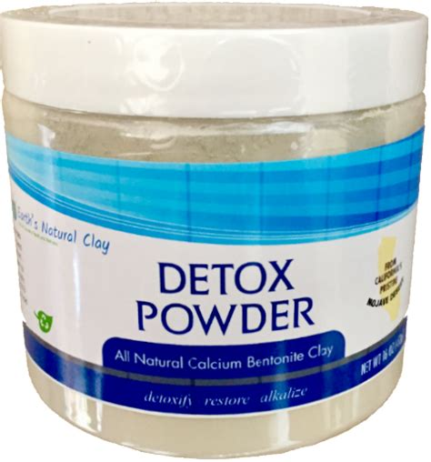 Detox Calicum by Calcium Bentonite Green Clay For Use Bpa Free