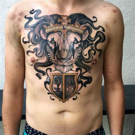 tattoo chest shield top 70 best shield tattoo design ideas for men armor
