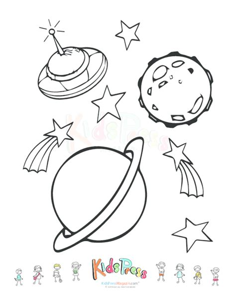 coloring pages outer space free free outer space coloring pages