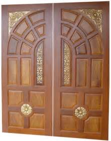 Wooden Door Designs Pictures by New Kerala Model Wooden Front Door Double Door Designs