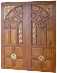 new kerala model wooden front door door designs