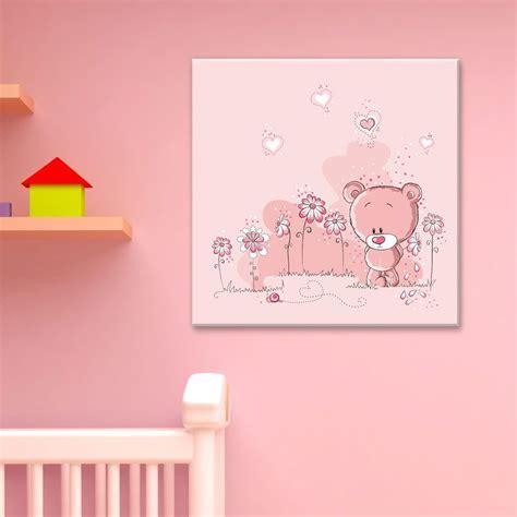 Porte Photo Mural 2394 by Tableau Ourson Adorable Petit Nounours Timide Dans