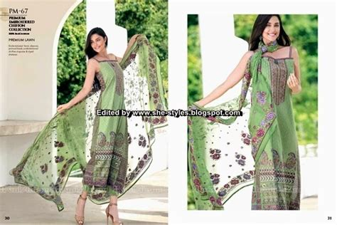gul ahmed premium embroidered lawn 2015 16 fashion is passion gul ahmed premium embroidered chiffon collection 2015