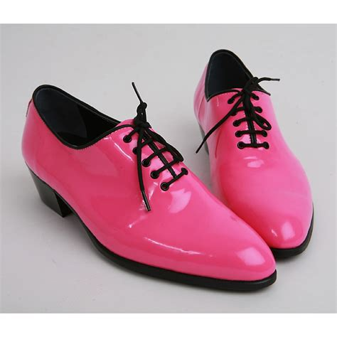 mens pink boots mens made by oxfords 1 77 inch heel dress pink shoes