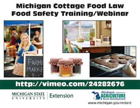 hillsdale county extension news michigan cottage food