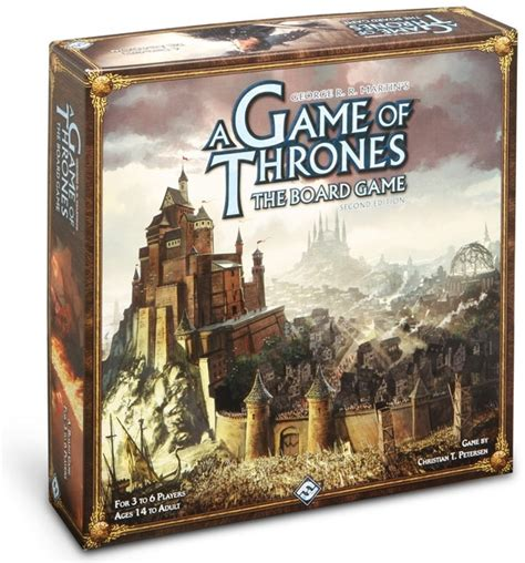 A Of Thrones The Board Second Edition a of thrones the board second edition