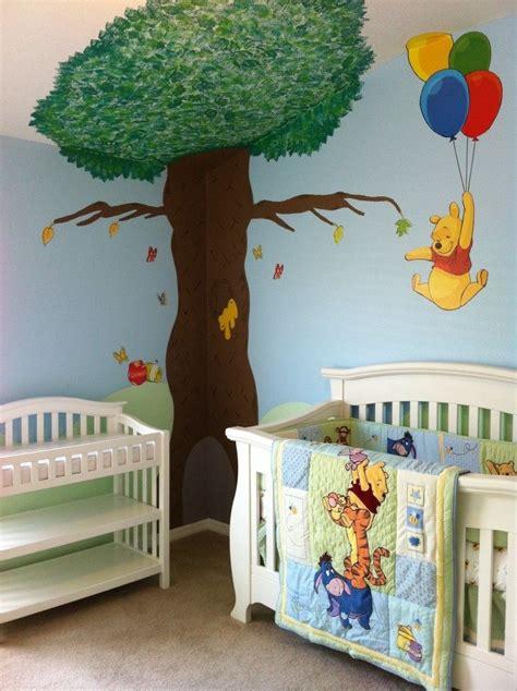 Winnie The Pooh Nursery Winnie The Pooh And Santos On Winnie The Pooh Changing Table