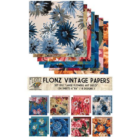 Craft Paper Packs - scrapbooking craft paper pack 24pcs 6x6 flonz