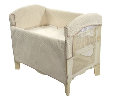 bassinet attached to bed arm s reach ideal arc original co sleeper bedside bassinet