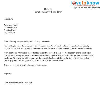Cancellation Letter To Customer free paid survey 4 u