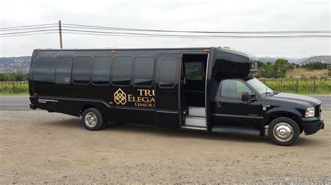 napa valley party bus rental napa valley charter bus  limo