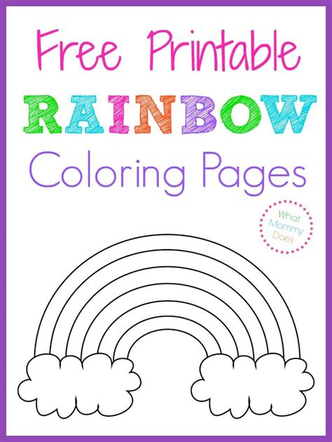 printable rainbow numbers free printable rainbow coloring pages color sheets