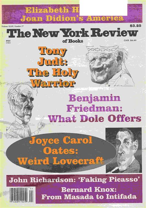 new york review of books backissues com new york review of books october 31 1996