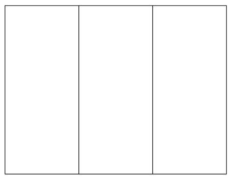 blank brochure template tims printables