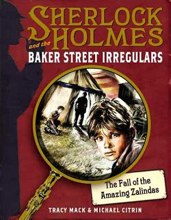 on baker a sherlock bookshop mystery books the fall of the amazing zalindas by tracy mack