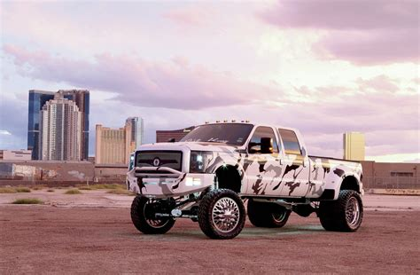 ford hunting truck 2015 ford f 350 platinum texas snow camo photo image