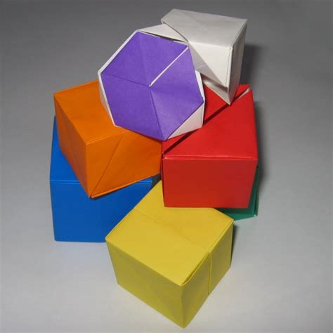 Fold Paper Into Cube - puzzle cube 2 kunihiko kasahara happy folding