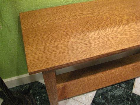 Home Decor Bedroom Pictures quartersawn white oak quot mission quot sofa table boulder