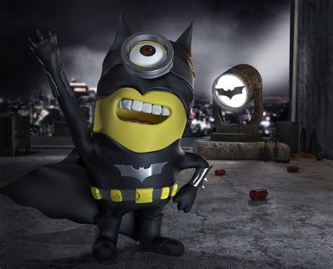 wallpaper minion batman batminion