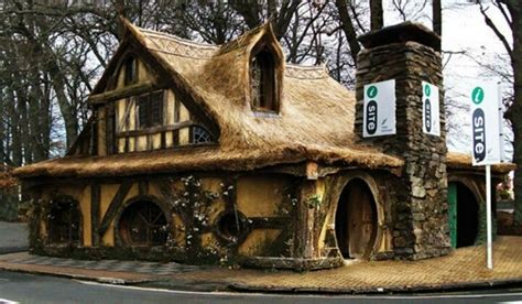 new zealand hobbit houses hobbit house new zealand places to visit pinterest