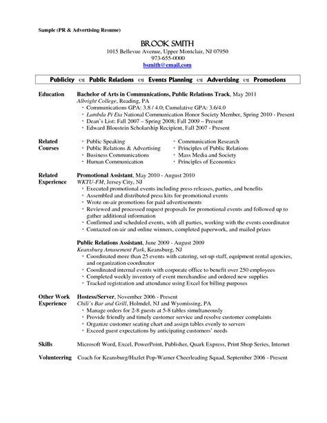 resume templates for servers doc 638825 serving resume exles server