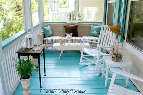 veranda schweden coastal cottage dreams and front porch starfish cottage