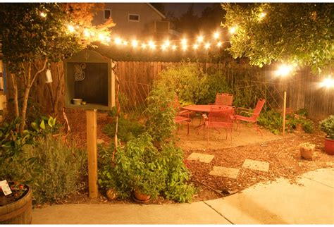 backyard twinkle lights photos hgtv canada