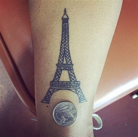 eiffel tower tattoos small eiffel tower
